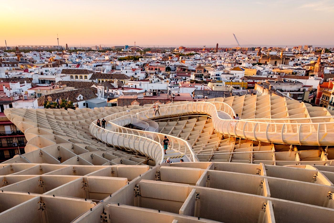 Vista desde Metropol Parasol - Sevilla