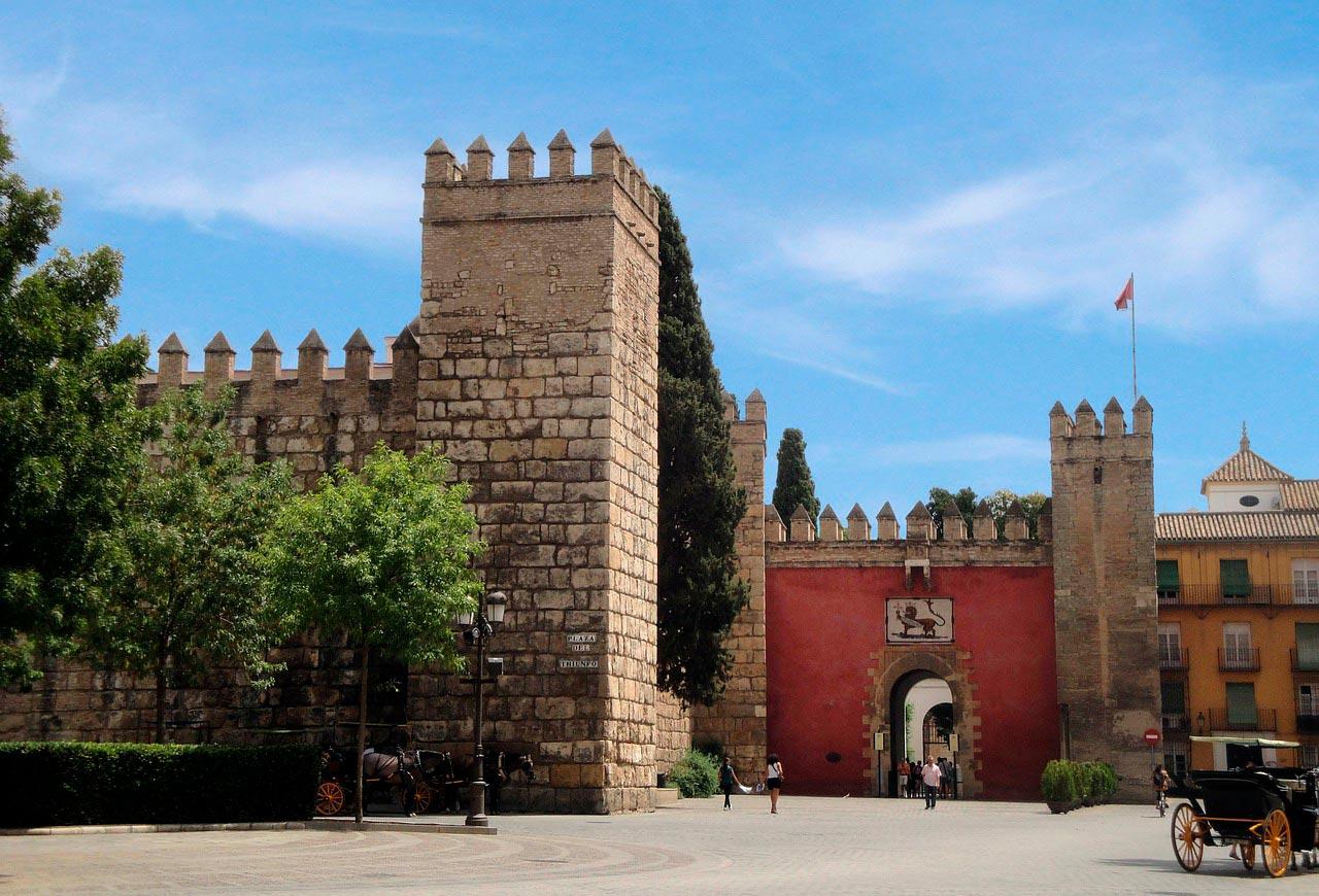 Puerta del León, Alcázar de Sevilla